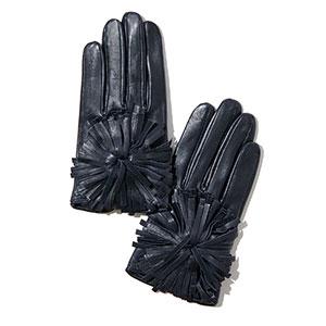 ≪メゾンファーブル≫手袋 PONPON BLEU VIOLACE