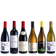 フランス人気ブドウ品種6本セット